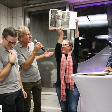 Buchpräsentation Geheimnisse aus der Backstube. Buchautorin Katharina Seiser Bäckerei Brandl Linz