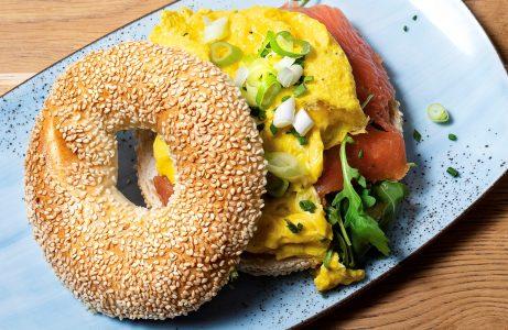 Café Die Bohne, bagel die bohne