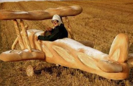 Baguette Flugzeug