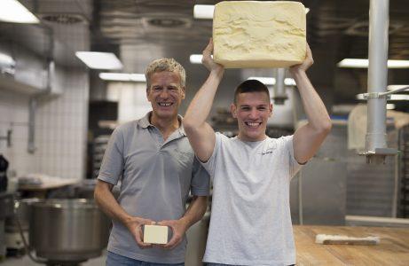 Backbuch Geheimnisse aus der Backstube Butter