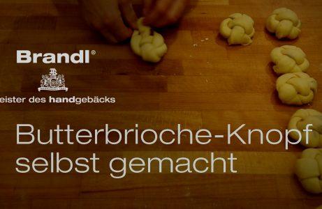 Butterbrioche Knopf, Bäckerei Brandl, Linz