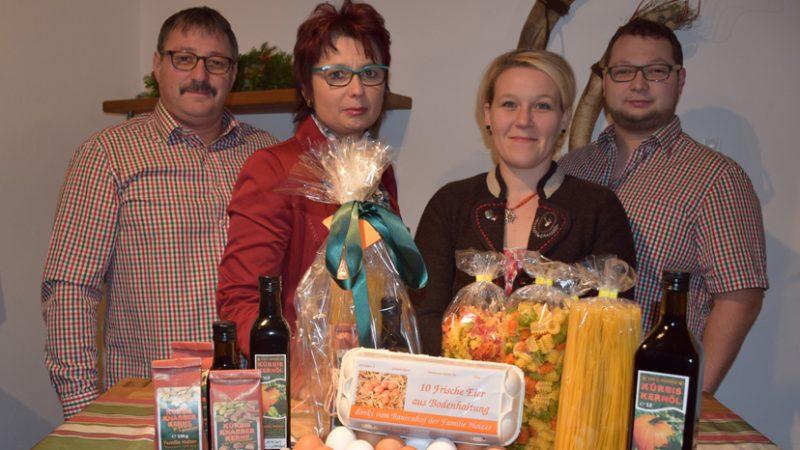 Kürbiskerne Familie Holzer