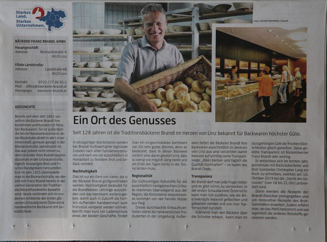 Oberösterreichische Nachrichten Ein Ort des Genusses